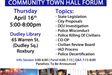 Black & Blue pt. II – Town Hall Forum on Policing