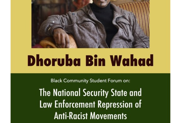 Dhoruba Bin Wahad @Tufts University 4/15