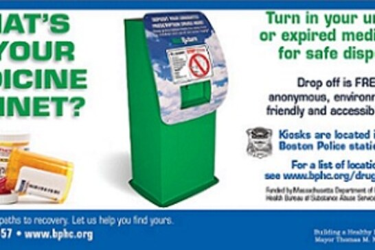 Drug Disposal Kiosks Properly Dispose Of Old Medications