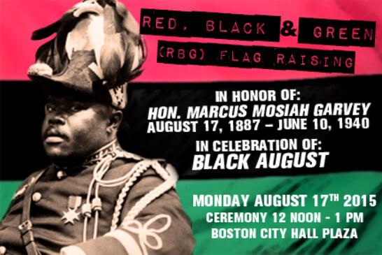 Red, Back & Green (RBG) Flag Raising