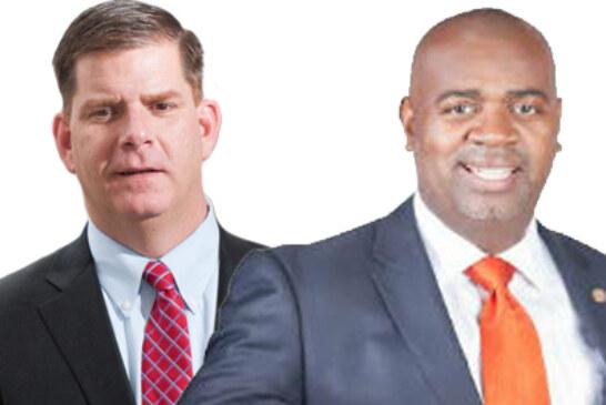 Meeting Of The Mayors: Marty Walsh Meet Ras Baraka
