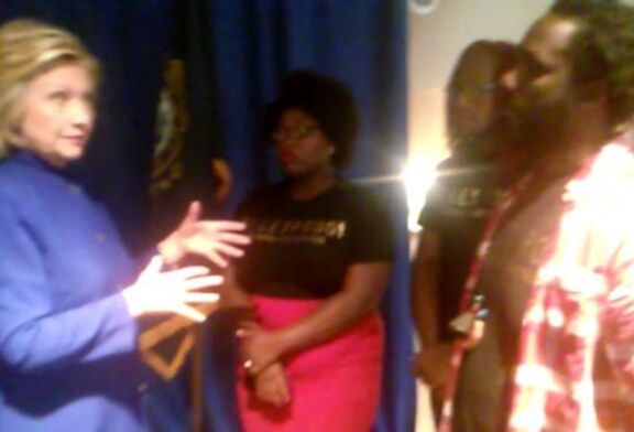 VIDEO: Black Lives Matter Massachusetts Meets With Hilary Clinton