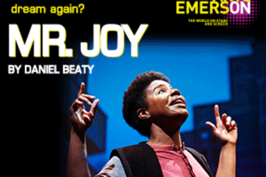 How can we learn to dream again? Mr. Joy Sep. 22 – Oct. 18