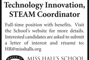 Miss Hall's School: STEAM Coord. Dir. of Eng. & Tech.