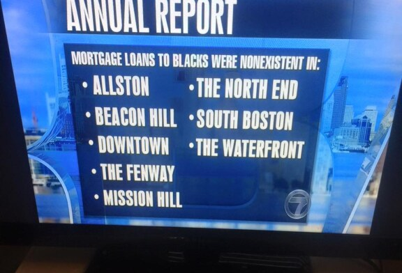 "UMass Report Mortgage Lending to ""Minorities"" In Boston & Massachusetts"