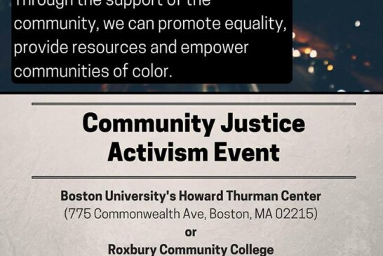 Community Justice Event – $20 for your time! Apr. 9