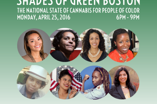 National State of Cannabis for People of Color 4/25 6-9pm