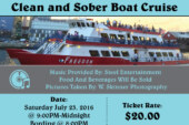 Sober Cruise – 90's Throwback – July 23