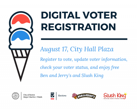 Digital Voter Registration Graphic