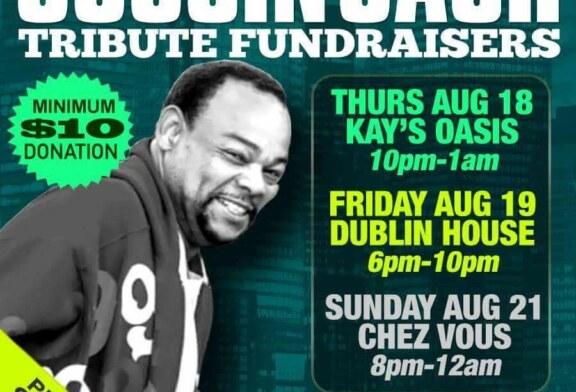 Cool Cousin Cash Tribute Fundraisers – Aug. 18-21