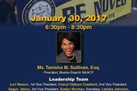Boston Branch NAACP General Meeting Jan. 30