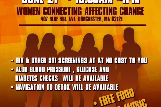 Community Outreach Day – Women Connecting Affecting Change – June 21st