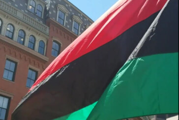 Juneteenth RBG Flag Raising City Hall Plaza June 19th 12 noon