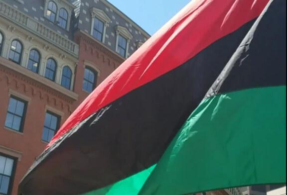 Juneteenth RBG Flag Raising City Hall Plaza June 19th 12 noon