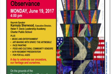 7th Annual Juneteenth Emancipation Celebration @NCAAA Museum June 19th 4PM