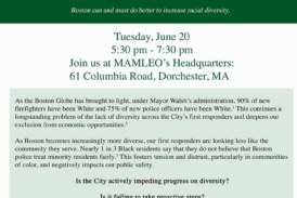 Community Forum On  Police & Fire Diversity