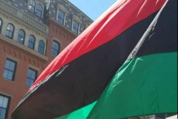 Juneteenth RBG Flag Raising (Red, Black & Green) Tue. June 19