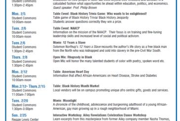 Black History Month at Roxbury Community College (RCC)