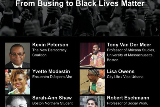 "BU Lecture ""Voices of Black Mobilization in Boston"" March 27"