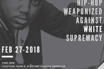 """Tef Poe """"Hip-Hop Weaponized Against White Supremacy"""" Feb. 27"""