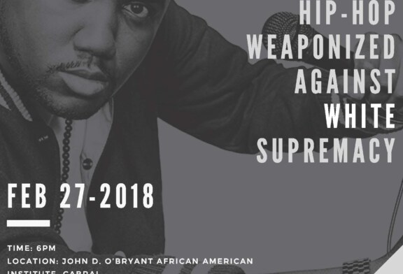 "Tef Poe ""Hip-Hop Weaponized Against White Supremacy"" Feb. 27"