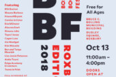 Boston Book Festival BBF: Roxbury Edition Oct. 13