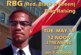 Malcolm X RBG Flag Raising 5-19-20 (Live Streamed)