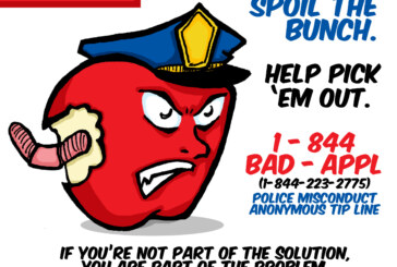 Bad Apple Police Misconduct Tip Line