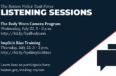 The Boston Police Task Force Listening Sessions