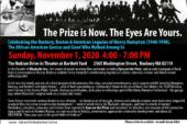 Celebrating the Legacy of Henry Hampton (1940-1998) Nov. 1st 4PM